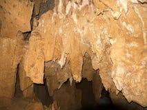 Θαυμάσιοι σταλακτίτες σε μια σπηλιά στην επιφύλαξη Ankaran, Μαδαγασκάρη Στοκ φωτογραφία με δικαίωμα ελεύθερης χρήσης
