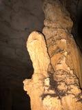 Θαυμάσιοι σταλακτίτες σε μια σπηλιά στην επιφύλαξη Ankaran, Μαδαγασκάρη Στοκ εικόνα με δικαίωμα ελεύθερης χρήσης