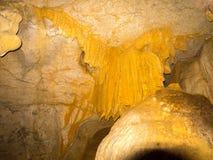 Θαυμάσιοι σταλακτίτες σε μια σπηλιά στην επιφύλαξη Ankaran, Μαδαγασκάρη Στοκ Εικόνες