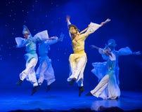Θαυμάσιος-Tang και λόγος-κινεζικός λαϊκός χορός τραγουδιού στοκ φωτογραφία