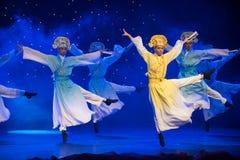 Θαυμάσιος-Tang και λόγος-κινεζικός λαϊκός χορός τραγουδιού στοκ εικόνα με δικαίωμα ελεύθερης χρήσης