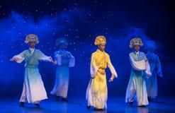 Θαυμάσιος-Tang και λόγος-κινεζικός λαϊκός χορός τραγουδιού στοκ εικόνες
