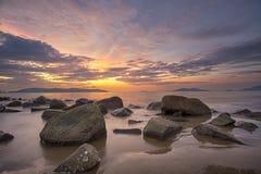 Θαυμάσιο ηλιοβασίλεμα στοκ φωτογραφίες με δικαίωμα ελεύθερης χρήσης