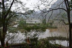 Θαυμάσιο τοπίο σε Hoa LU κοντά σε Ninh Binh στο Βιετνάμ, Ασία στοκ φωτογραφίες με δικαίωμα ελεύθερης χρήσης