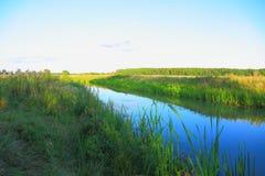 Θαυμάσιο τοπίο φύσης μια θερινή ημέρα Στοκ Εικόνες