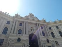 Θαυμάσιο Hofburg, Βιέννη, Αυστρία στοκ εικόνες
