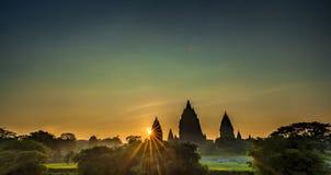 Θαυμάσιο Prambanan Στοκ Εικόνες