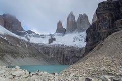 Θαυμάσιο Torres del Paine Στοκ Εικόνες