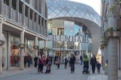 ΘΑΨΤΕ το ST EDMUNDS, βρετανικό Debenhams κατάστημα στοκ εικόνα με δικαίωμα ελεύθερης χρήσης