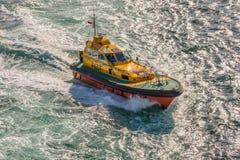 Θαλάσσια πειραματική βάρκα Στοκ εικόνες με δικαίωμα ελεύθερης χρήσης