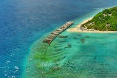 Θαλάσσια περιοχή ξενοδοχείων Στοκ εικόνες με δικαίωμα ελεύθερης χρήσης