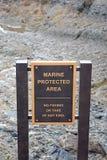 Θαλάσσια προστασία Στοκ Εικόνες