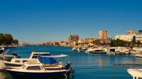 Θαλάσσιος λιμένας σε Zadar Στοκ Φωτογραφίες