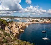 Θαλάσσιος λιμένας Ibiza Στοκ Εικόνες