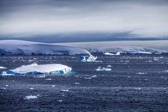 Θαλάσσιος πάγος τοπίο-2 της Ανταρκτικής Στοκ Φωτογραφία