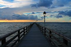 Θαλάσσιος περίπατος ακτών Στοκ εικόνες με δικαίωμα ελεύθερης χρήσης
