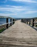 Θαλάσσιος περίπατος στην παραλία Στοκ εικόνες με δικαίωμα ελεύθερης χρήσης
