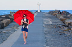 Θαλάσσιος δρόμος Gold Coast - Queensland Αυστραλία Στοκ φωτογραφία με δικαίωμα ελεύθερης χρήσης