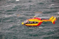 Θαλάσσιο ελικόπτερο διάσωσης Στοκ εικόνα με δικαίωμα ελεύθερης χρήσης