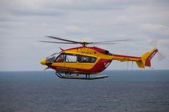 Θαλάσσιο ελικόπτερο διάσωσης Στοκ Φωτογραφία