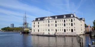 θαλάσσιο μουσείο εθνι&k Στοκ φωτογραφία με δικαίωμα ελεύθερης χρήσης