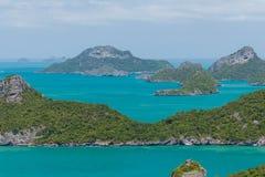 Θαλάσσιο πάρκο: Θαλάσσια εθνική άποψη πάρκων AngThong Στοκ Εικόνα