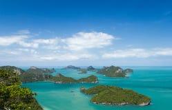 Θαλάσσιο πάρκο: Θαλάσσια εθνική άποψη πάρκων AngThong Στοκ εικόνα με δικαίωμα ελεύθερης χρήσης