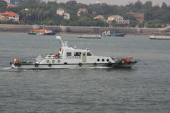 Θαλάσσιο περιπολικό σκάφος της Κίνας στοκ φωτογραφία με δικαίωμα ελεύθερης χρήσης