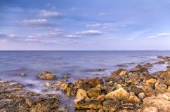 Θαλάσσιο τοπίο Amasing στοκ φωτογραφίες