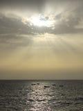 Θαλάσσιο φως βραδιού Στοκ Εικόνες