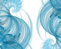 Θαλάσσιο fractal σχέδιο Στοκ φωτογραφία με δικαίωμα ελεύθερης χρήσης