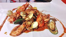 θαλασσινά πικάντικα Στοκ εικόνες με δικαίωμα ελεύθερης χρήσης