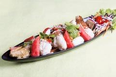 θαλασσινά πικάντικος Ταϊ&lam Στοκ Φωτογραφίες