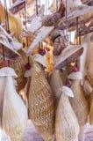 Θαλασσινό κοχύλι Windchime Στοκ εικόνα με δικαίωμα ελεύθερης χρήσης