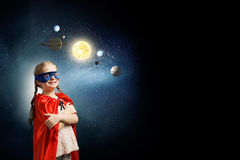 Θα είμαι αστροναύτης Στοκ φωτογραφίες με δικαίωμα ελεύθερης χρήσης