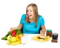 Θα είμαι υγιέστερος! Στοκ Εικόνα