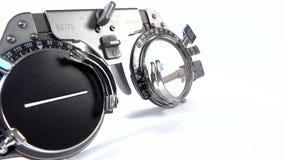 Θεάματα που χρησιμοποιούνται για τις δοκιμές όρασης με τους διάφορους φακούς και τον πράσινο φακό φίλτρων φιλμ μικρού μήκους
