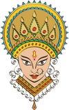 Θεά Durga της δύναμης Στοκ Φωτογραφίες
