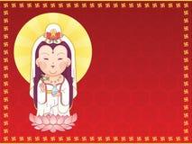 Θεά Guanyin του ελέους στοκ φωτογραφία με δικαίωμα ελεύθερης χρήσης