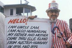 Θείος Σαμ Στοκ φωτογραφίες με δικαίωμα ελεύθερης χρήσης