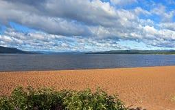Θεαματική λίμνη ελαφιών, νέα γη Στοκ εικόνα με δικαίωμα ελεύθερης χρήσης