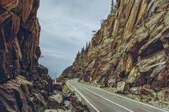 Θεαματικός δρόμος Transfagarasan, Ρουμανία στοκ φωτογραφία