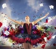 Θεαματικός χορευτής στοκ φωτογραφίες με δικαίωμα ελεύθερης χρήσης
