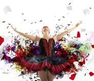 Θεαματικός χορευτής Στοκ Εικόνες