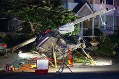 Θεαματικό τροχαίο ατύχημα Στοκ Εικόνες