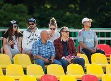 Θεατές στο βήμα Στοκ εικόνα με δικαίωμα ελεύθερης χρήσης