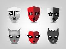 Θεατρικές μάσκες ελεύθερη απεικόνιση δικαιώματος