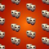 Θεατρικές μάσκες Στοκ Φωτογραφίες