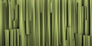 Θεατρικό υπόβαθρο με την ασημένια σύνθεση των μεταλλικών σωλήνων στοκ εικόνα