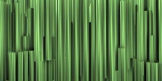 Θεατρικό υπόβαθρο με τη σύνθεση των πρασινωπών και μεταλλικών σωλήνων στοκ φωτογραφίες με δικαίωμα ελεύθερης χρήσης